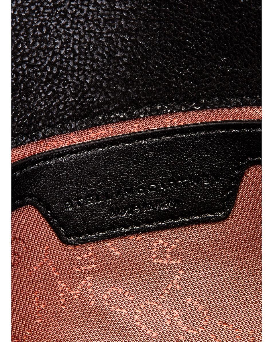 Image 7 of Stella McCartney Mini Falabella Shaggy Deer Crossbody Bag in Black