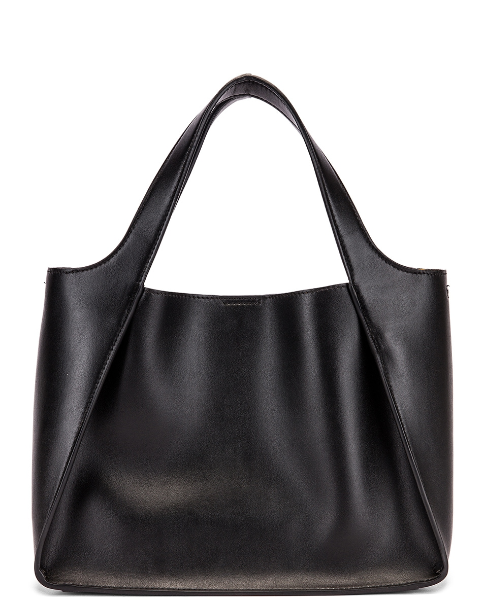 Image 3 of Stella McCartney Stella Crossbody Bag in Black