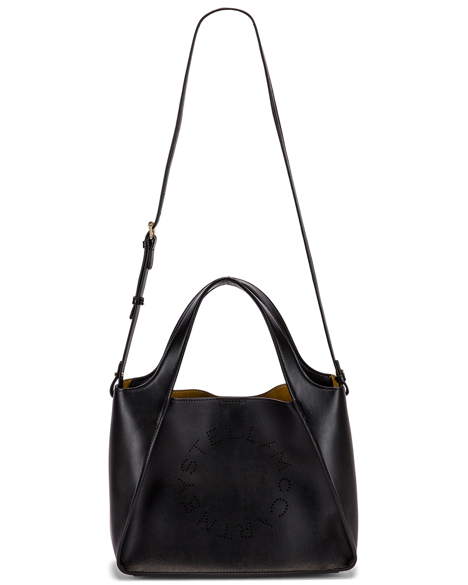 Image 6 of Stella McCartney Stella Crossbody Bag in Black