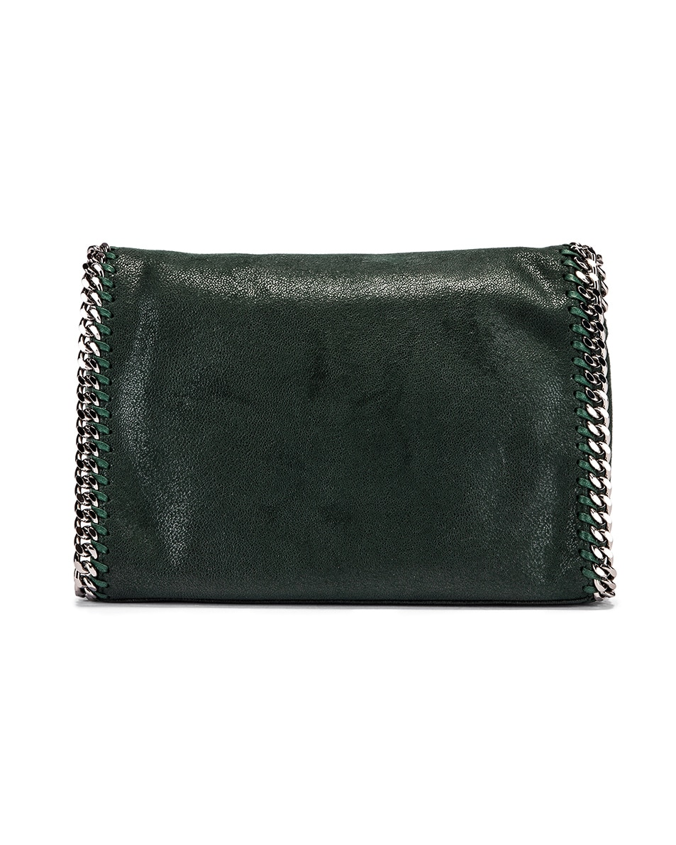 Image 3 of Stella McCartney Shaggy Deer Falabella Big Shoulder Bag in Pine