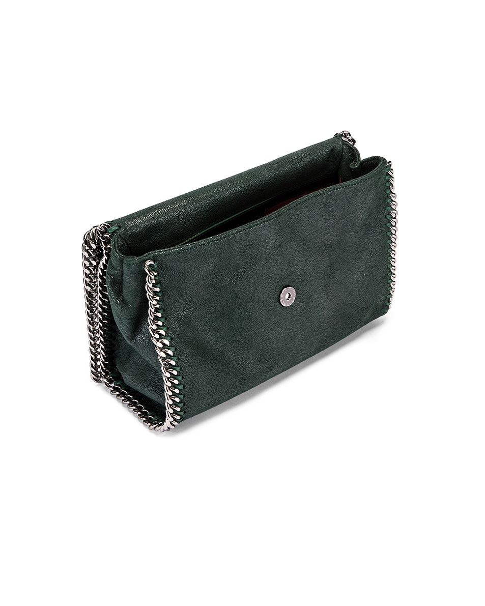 Image 5 of Stella McCartney Shaggy Deer Falabella Big Shoulder Bag in Pine