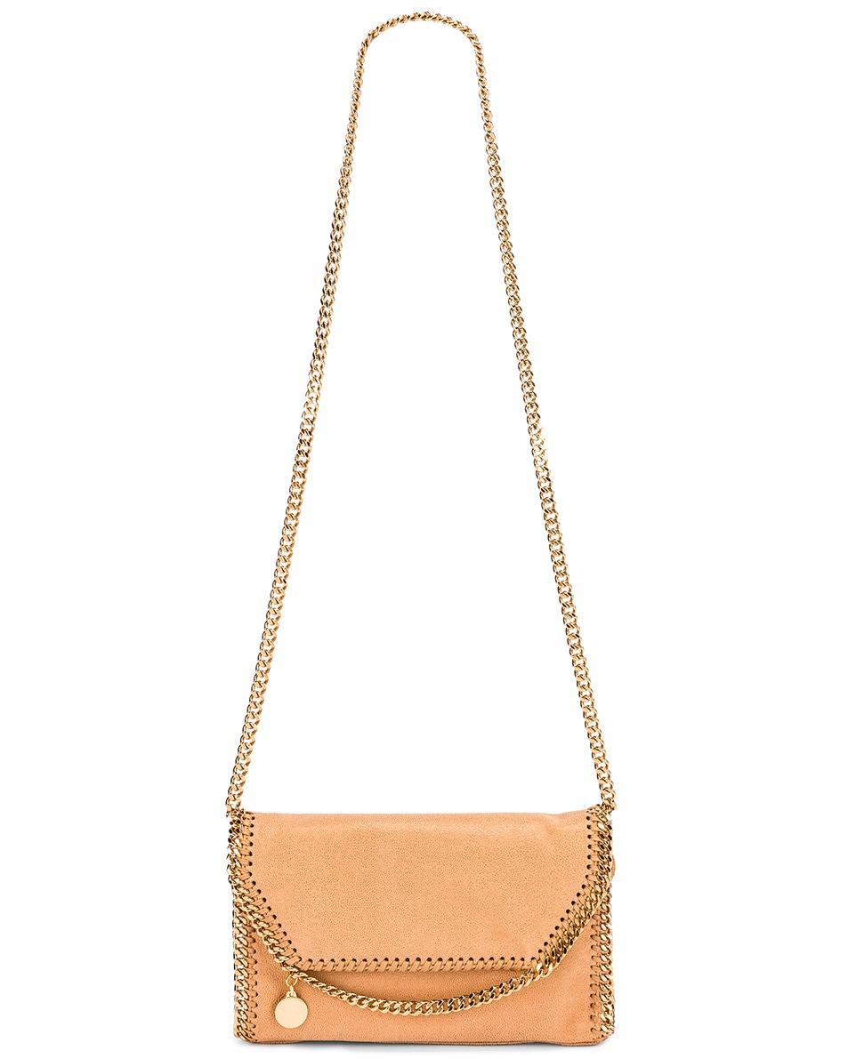 Image 6 of Stella McCartney Mini Falabella Shoulder Chain Bag in Tan