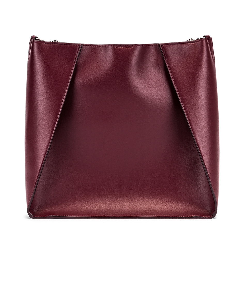 Image 3 of Stella McCartney Medium Crossbody Bag in Wine