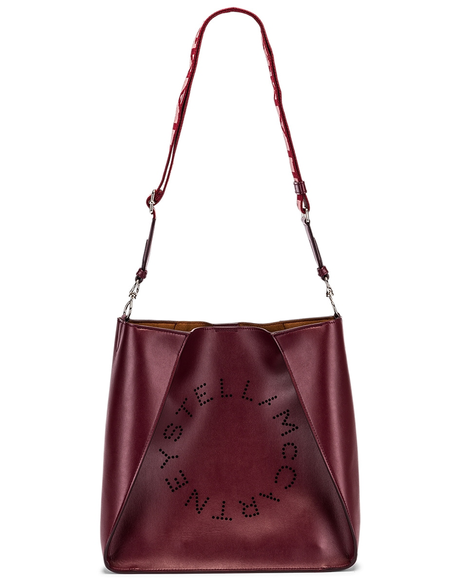 Image 6 of Stella McCartney Medium Crossbody Bag in Wine