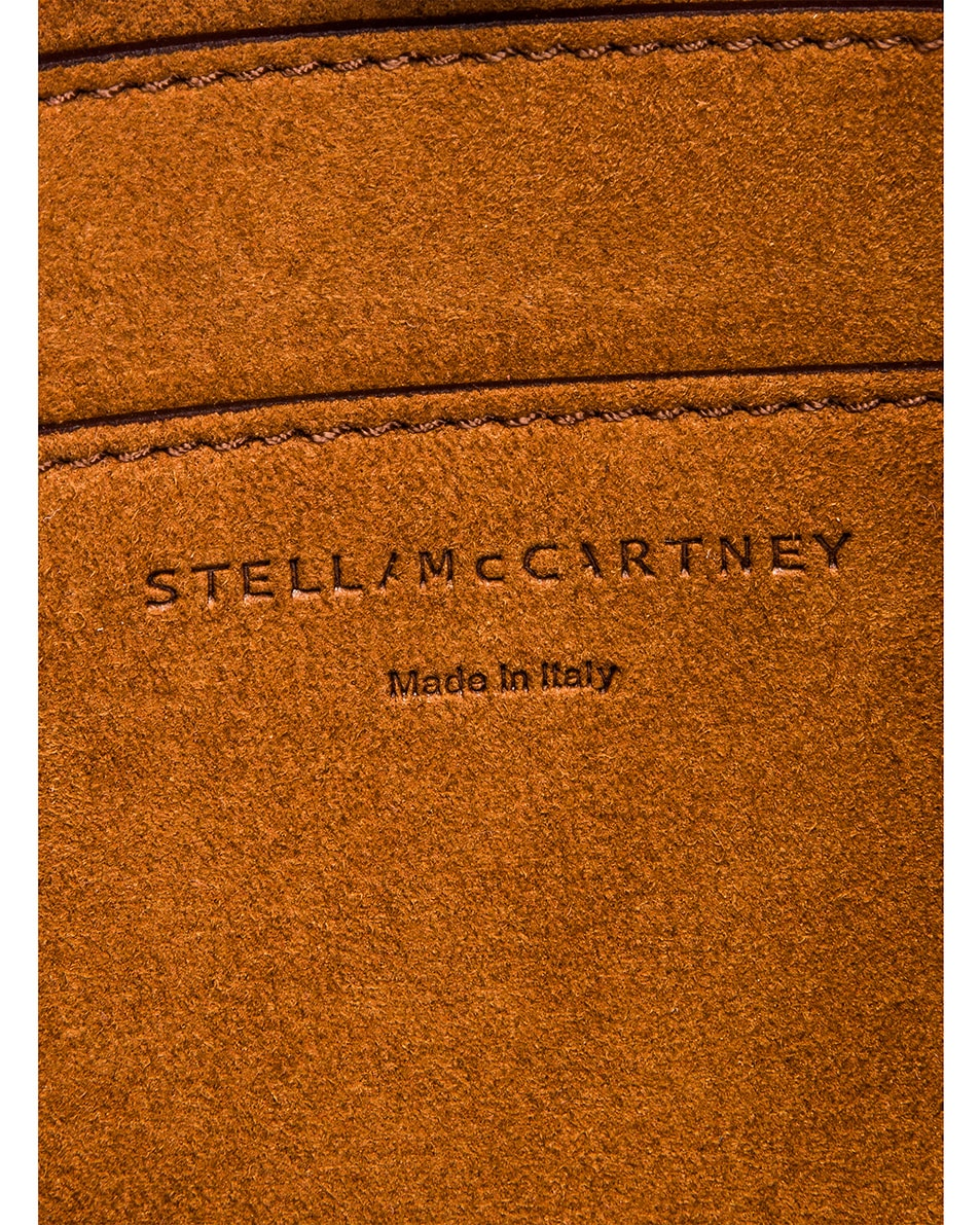 Image 7 of Stella McCartney Medium Crossbody Bag in Wine