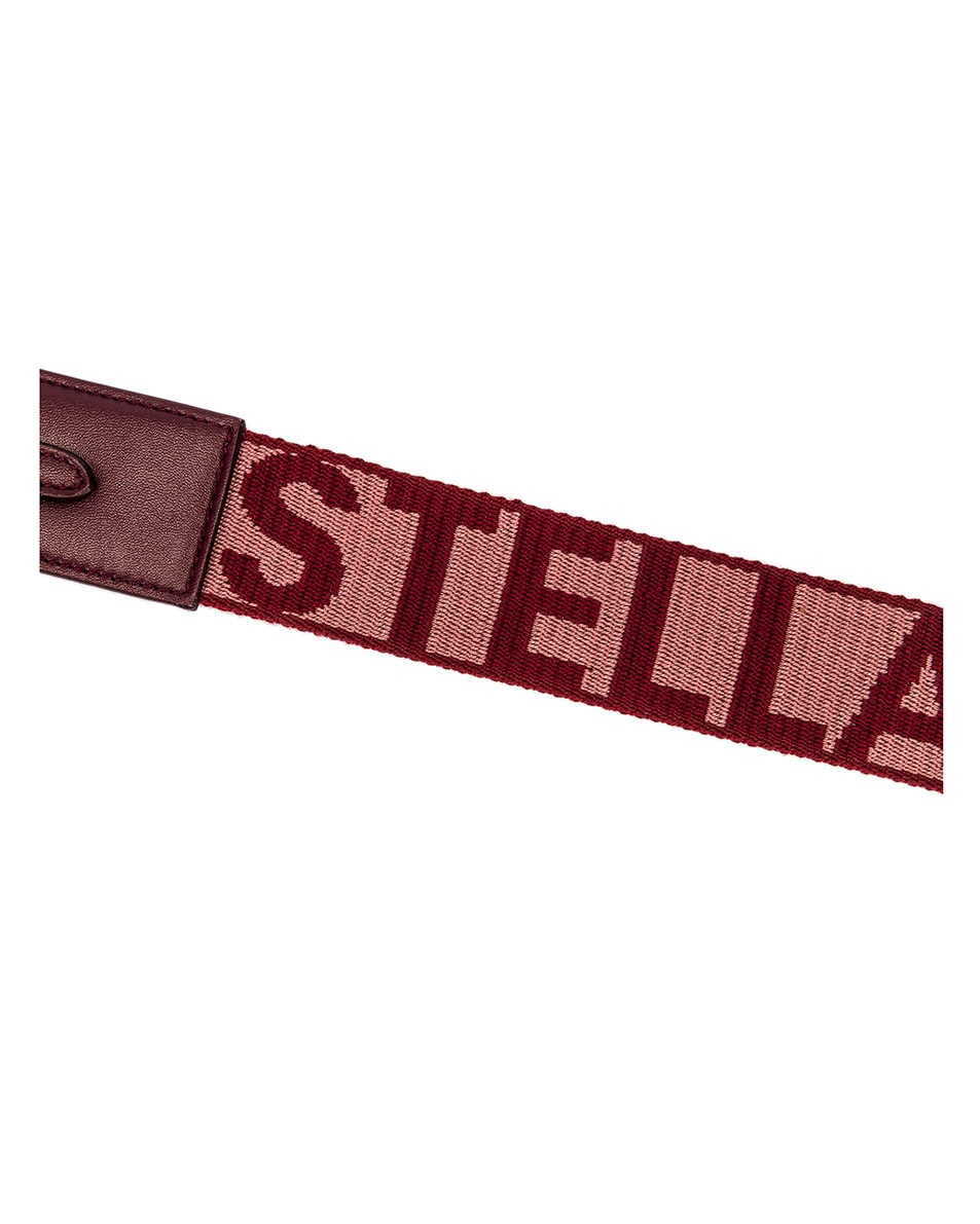 Image 8 of Stella McCartney Medium Crossbody Bag in Wine