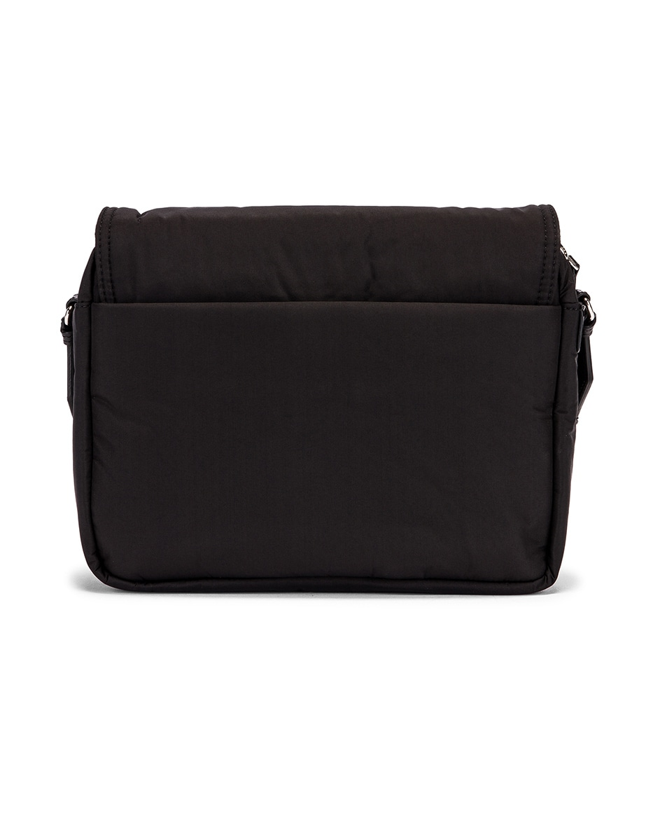 Image 3 of Stella McCartney Medium Padded Nylon Shoulder Bag in Black