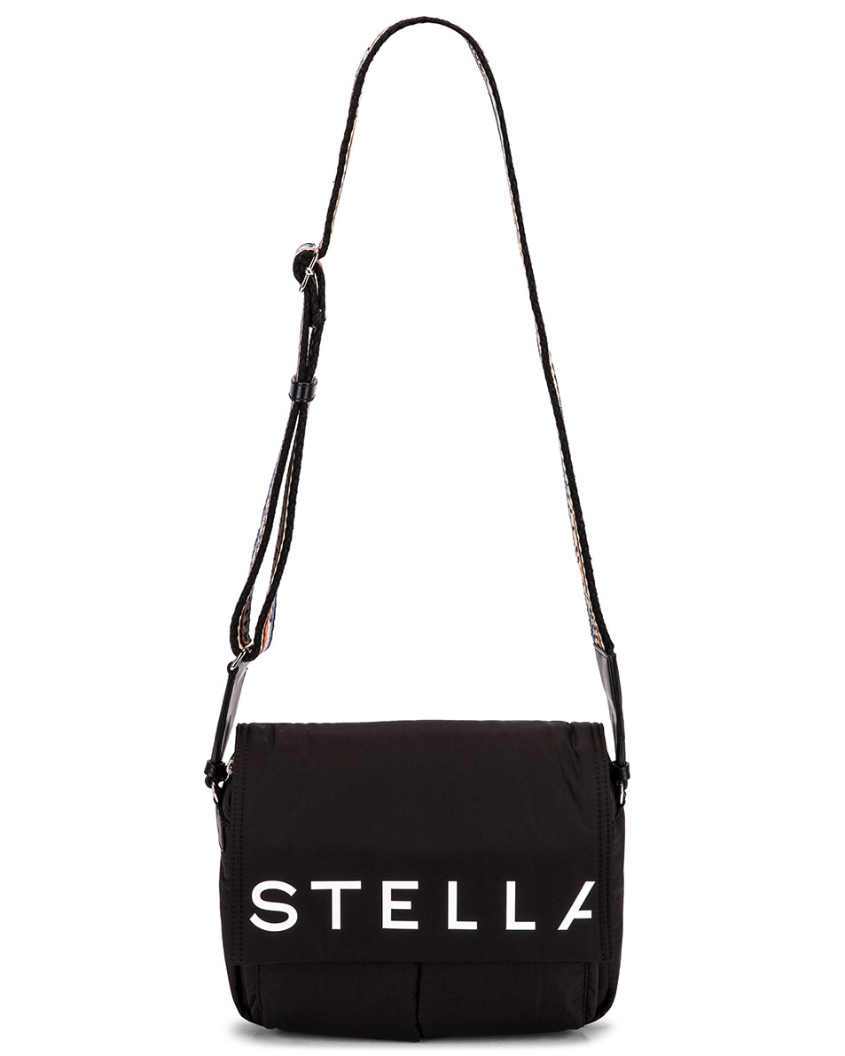 Image 6 of Stella McCartney Medium Padded Nylon Shoulder Bag in Black