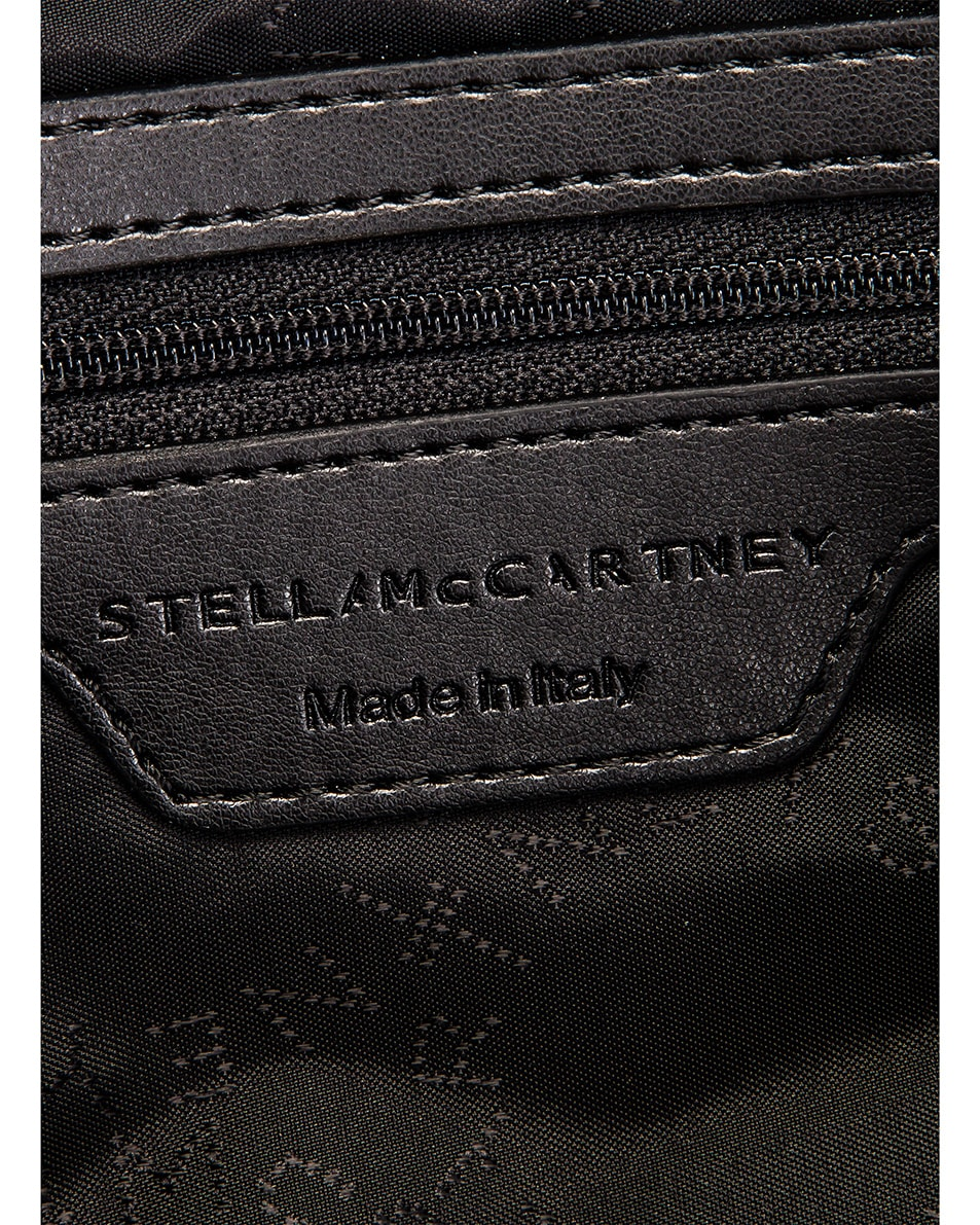 Image 7 of Stella McCartney Medium Padded Nylon Shoulder Bag in Black