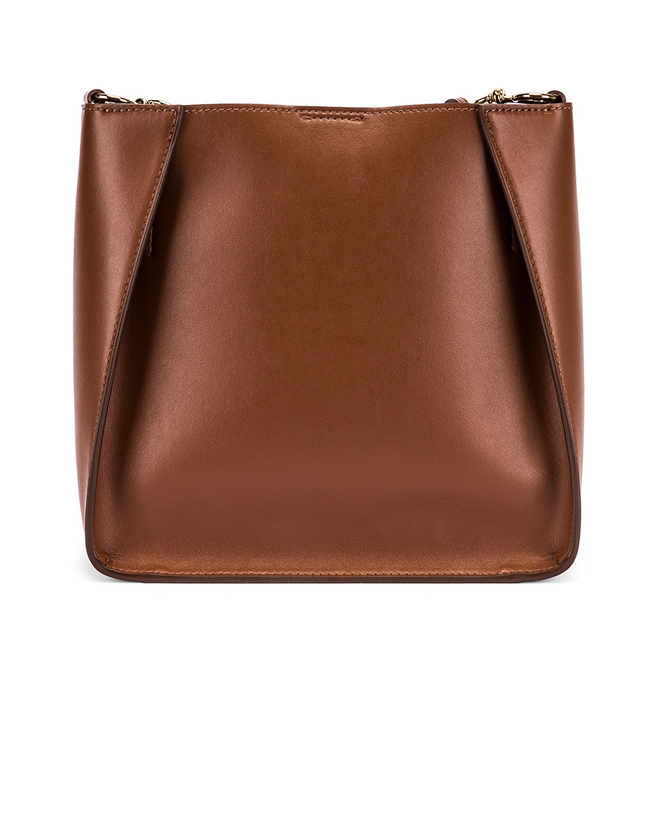 Image 3 of Stella McCartney Mini Crossbody Bag in Cinnamon
