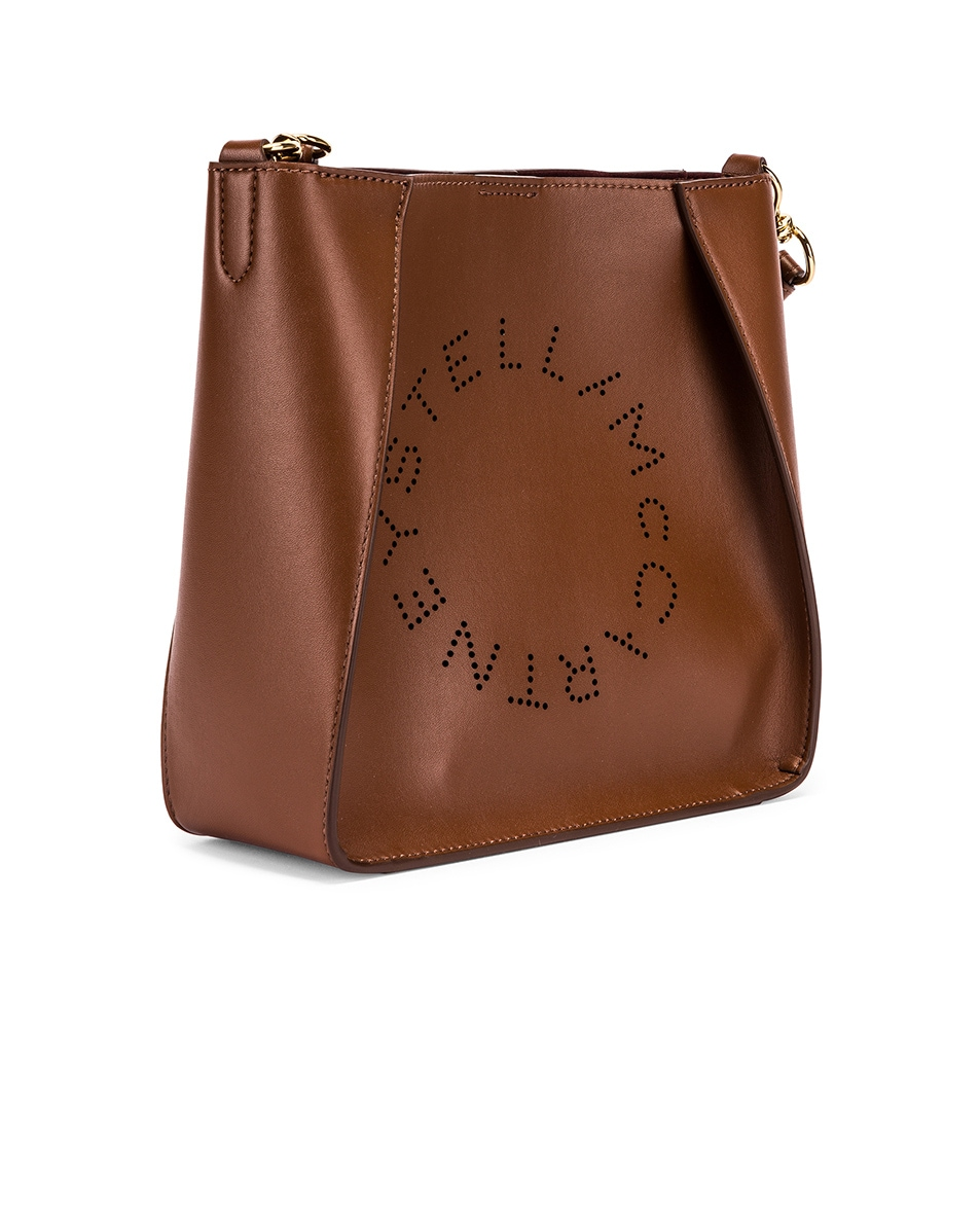 Image 4 of Stella McCartney Mini Crossbody Bag in Cinnamon