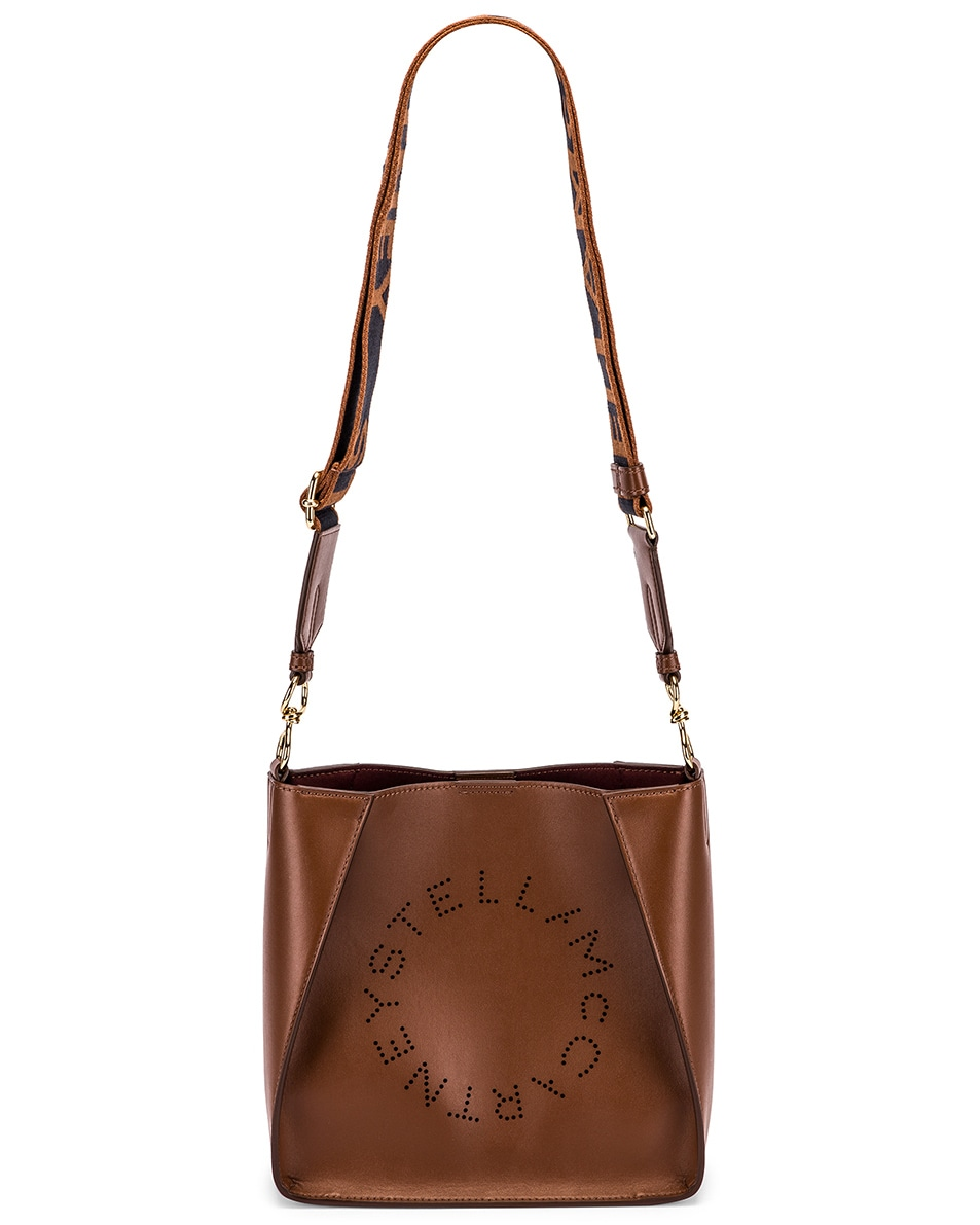 Image 6 of Stella McCartney Mini Crossbody Bag in Cinnamon