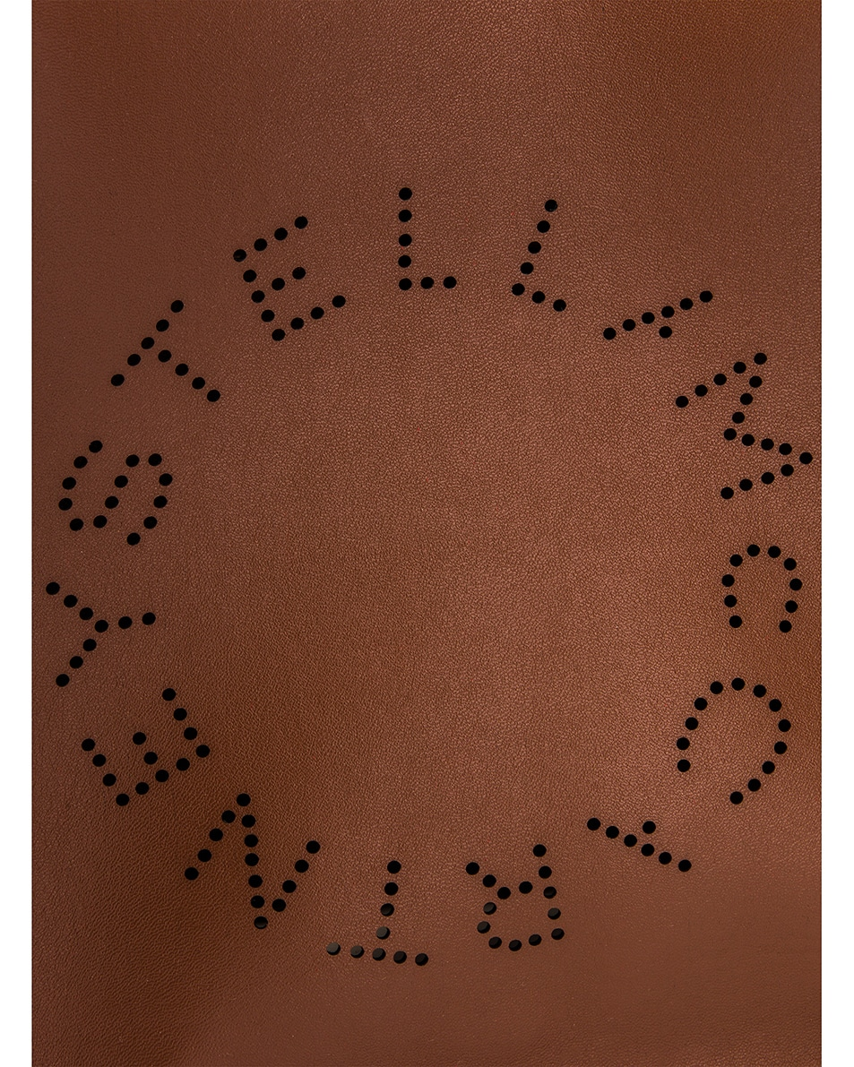 Image 8 of Stella McCartney Mini Crossbody Bag in Cinnamon