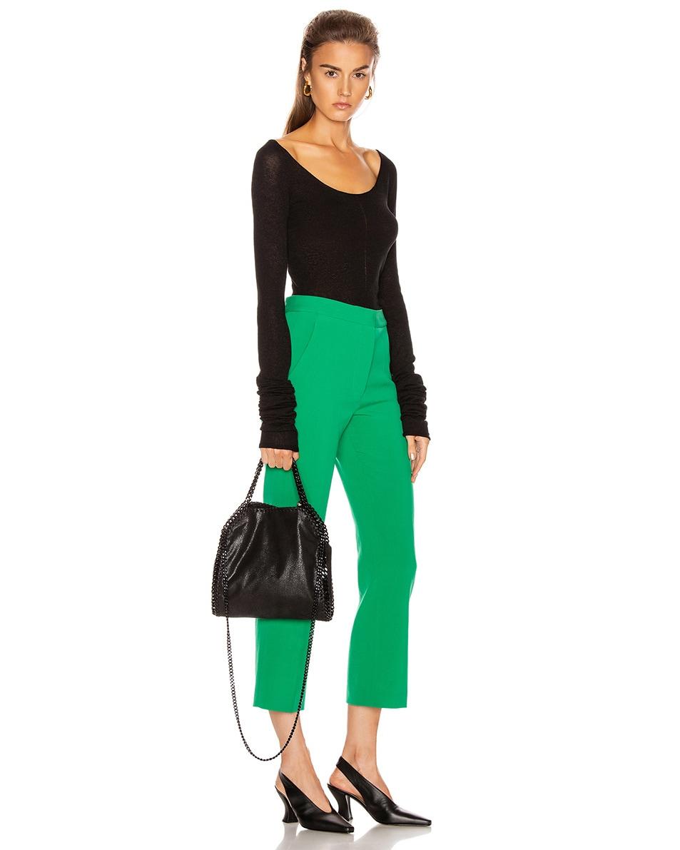 Image 2 of Stella McCartney Mini Falabella Tote Bag in Black
