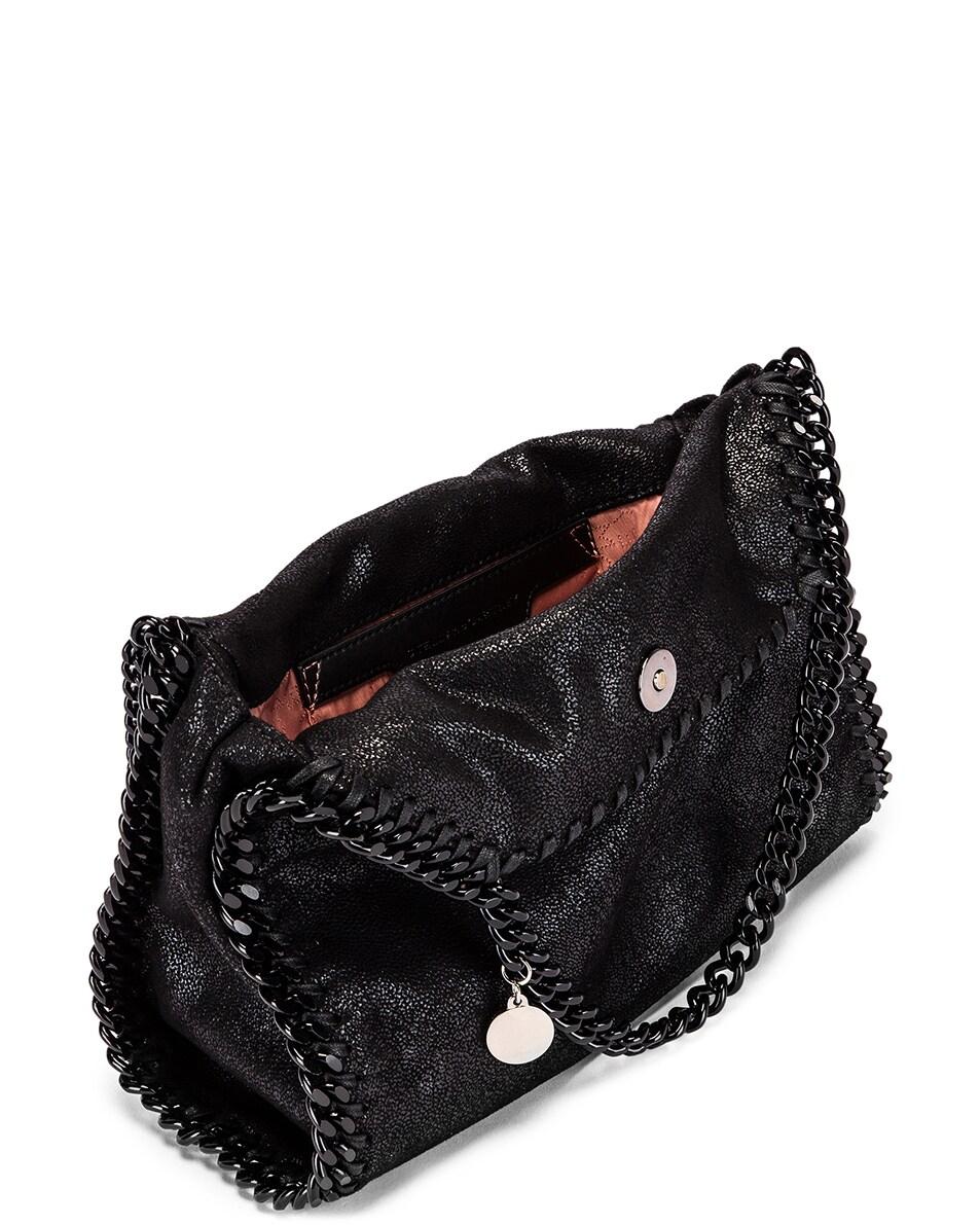 Image 5 of Stella McCartney Mini Falabella Tote Bag in Black