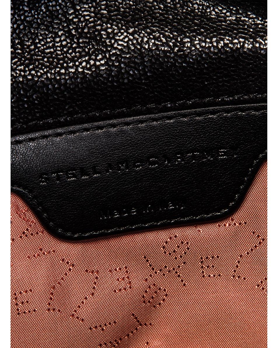 Image 7 of Stella McCartney Mini Falabella Tote Bag in Black