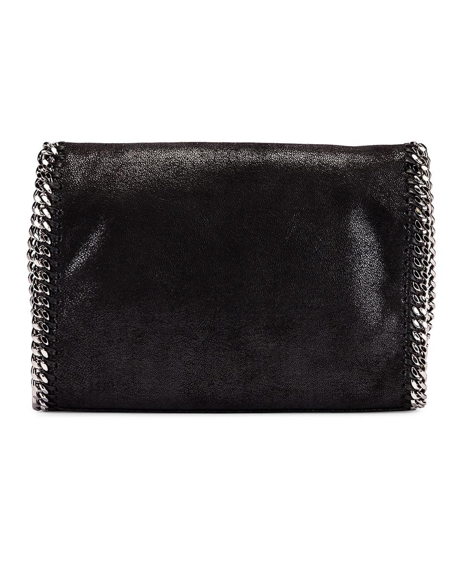 Image 3 of Stella McCartney Shaggy Deer Falabella Big Shoulder Bag in Black