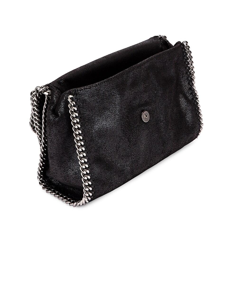 Image 5 of Stella McCartney Shaggy Deer Falabella Big Shoulder Bag in Black
