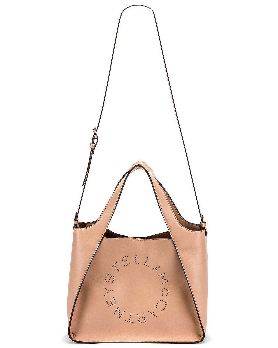 Image 6 of Stella McCartney Stella Crossbody Bag in Powder