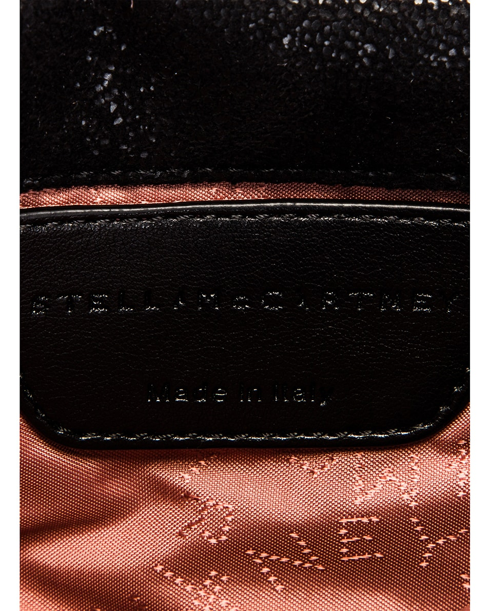 Image 7 of Stella McCartney Flap Falabella Belt Bag in Black