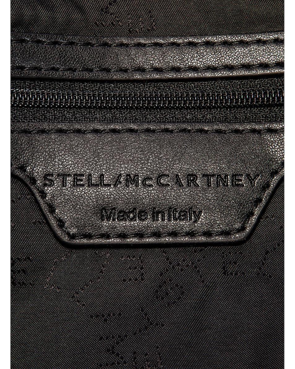 Image 6 of Stella McCartney Medium Zip Padded Nylon Tote in Black