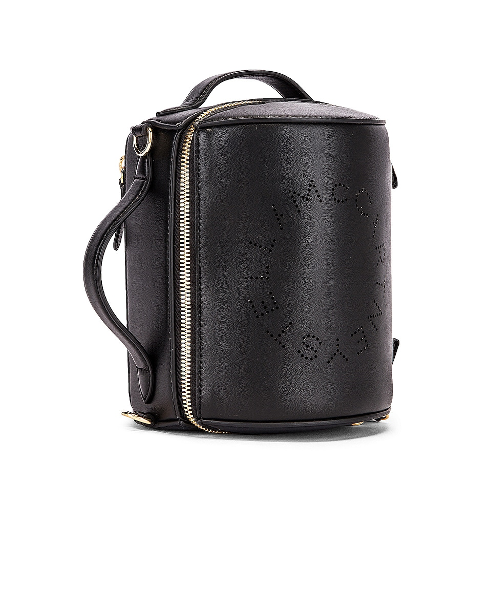 Image 4 of Stella McCartney Small Zip Around Shoulder Bag in Black