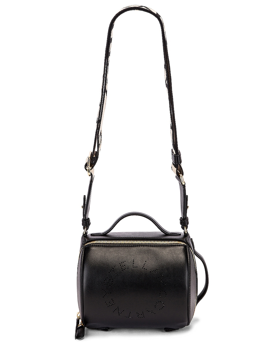 Image 6 of Stella McCartney Small Zip Around Shoulder Bag in Black