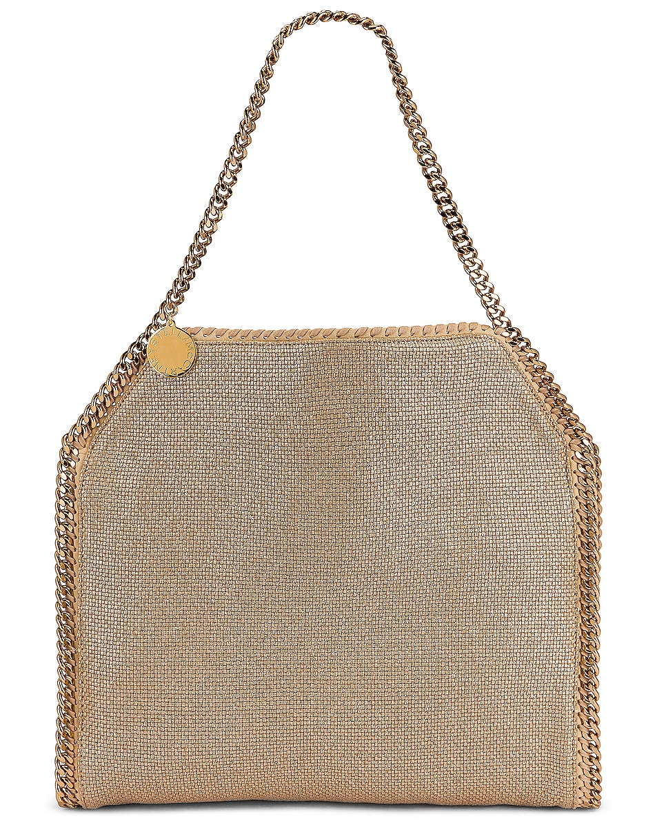 Image 1 of Stella McCartney Small Metallic Bag in Linen