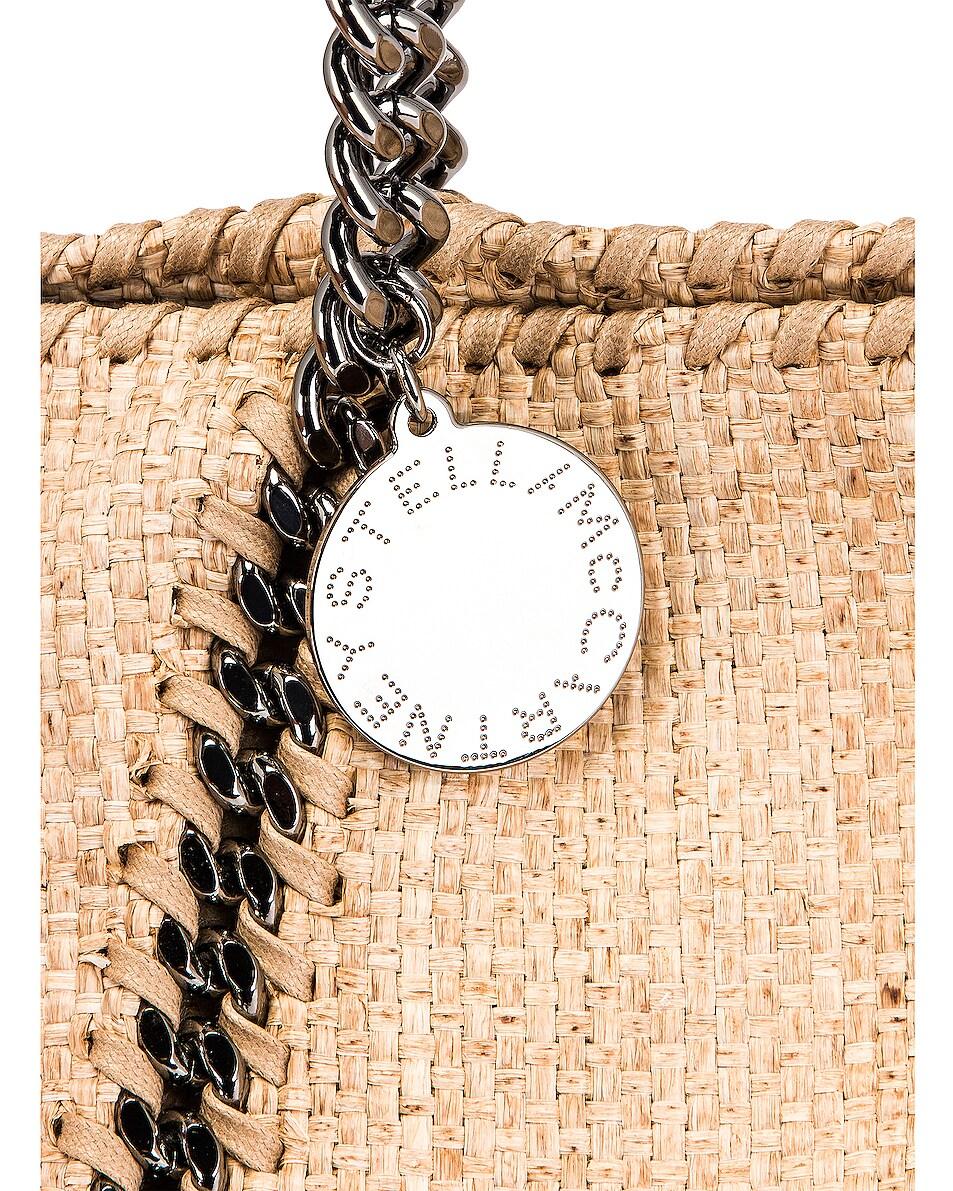 Image 7 of Stella McCartney Medium Reversible Weaved Tote in Natural
