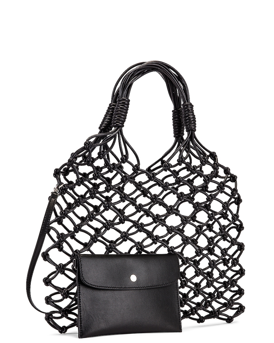 Image 4 of Stella McCartney Knotted Tote Bag in Black