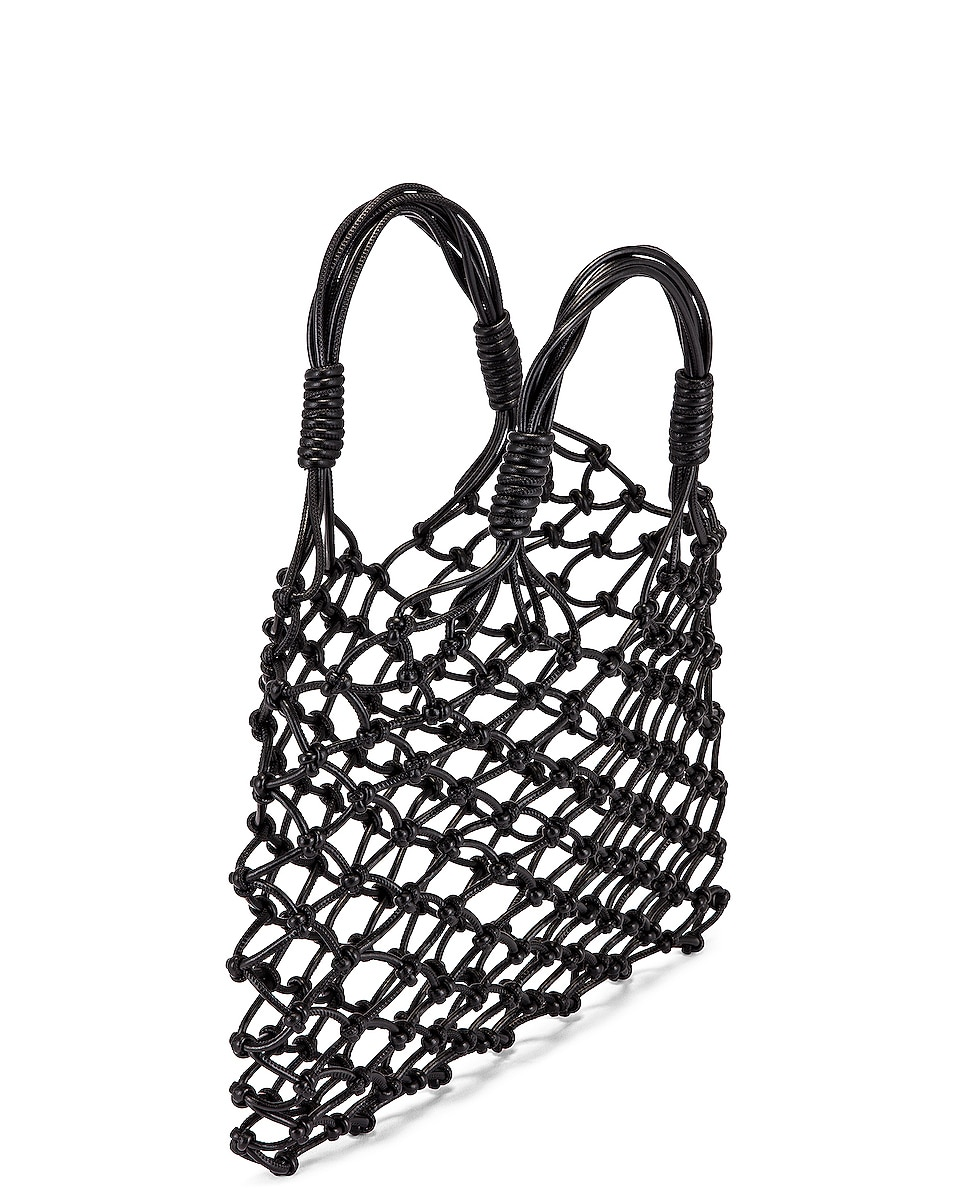 Image 5 of Stella McCartney Knotted Tote Bag in Black