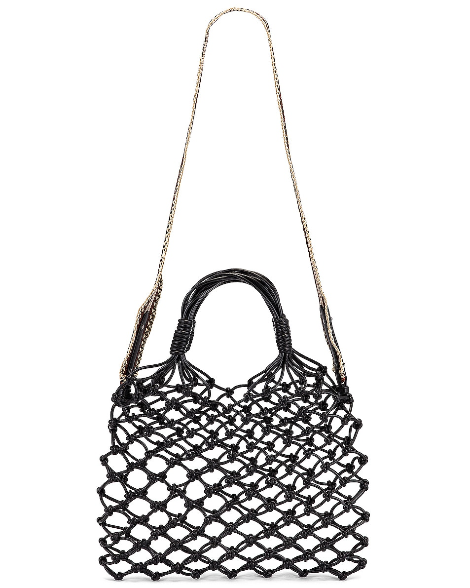 Image 6 of Stella McCartney Knotted Tote Bag in Black
