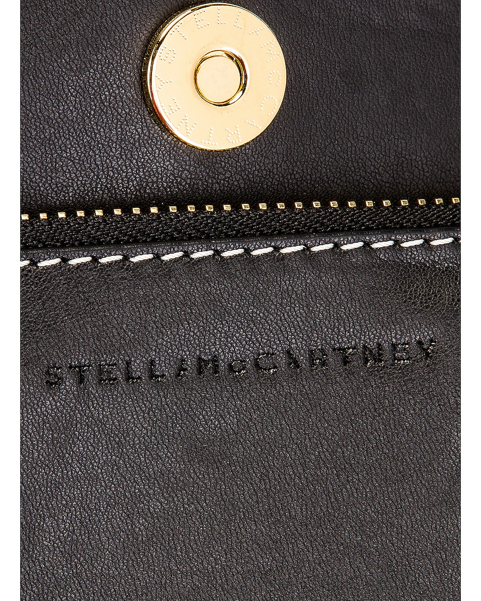 Image 7 of Stella McCartney Ajouree Raffia Bucket Bag in Light Sand