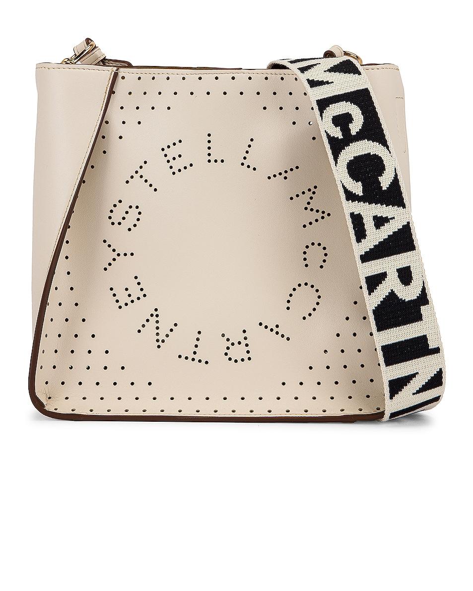Image 1 of Stella McCartney Mini Crossbody Bag in Pure White