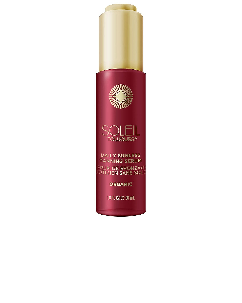 Image 1 of Soleil Toujours Organic Daily Sunless Tanning Serum in