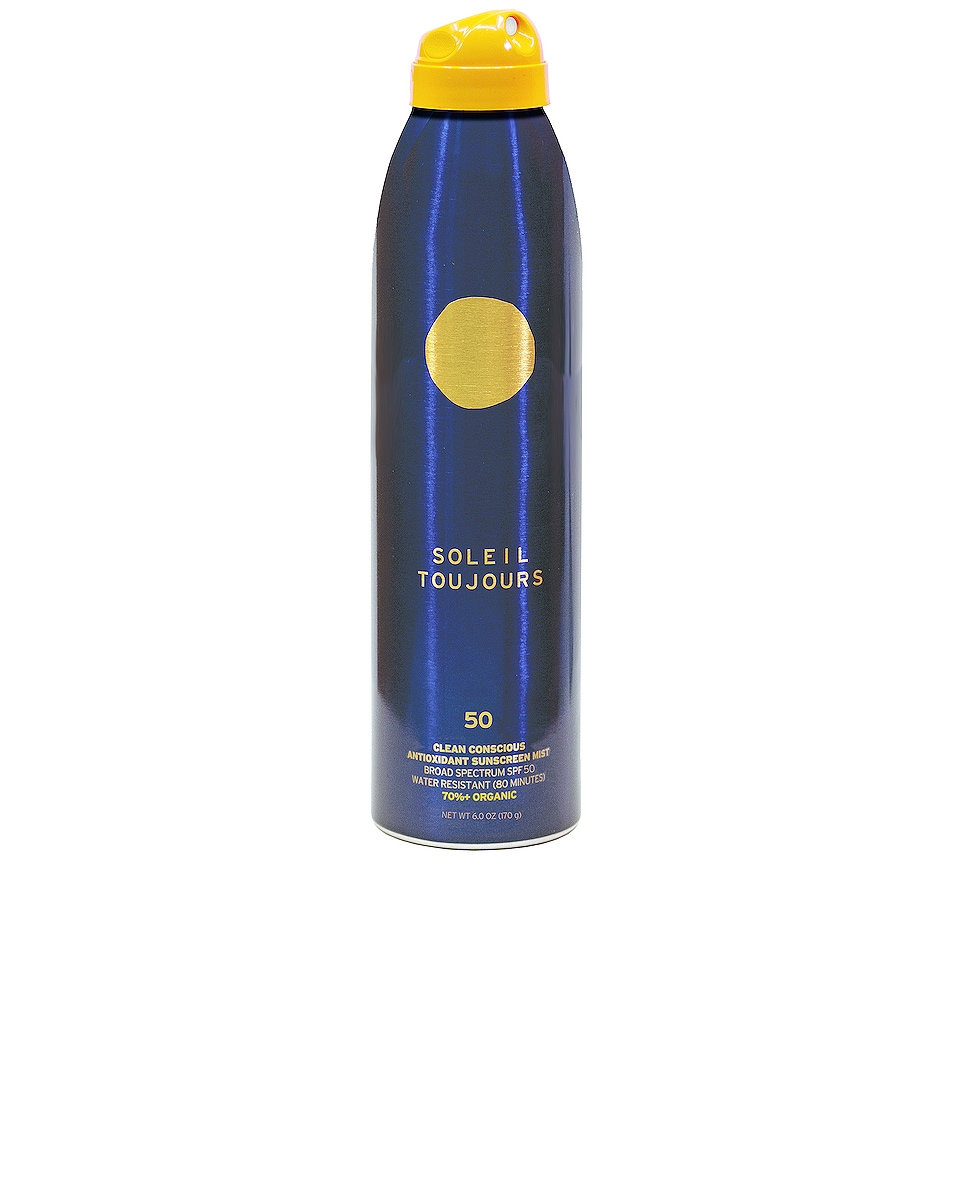Image 1 of Soleil Toujours Organic Sheer Sunscreen Mist SPF 50 in