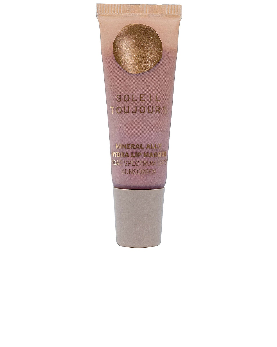 Image 1 of Soleil Toujours Hydra Volume Lip Masque SPF15 in Sip Sip