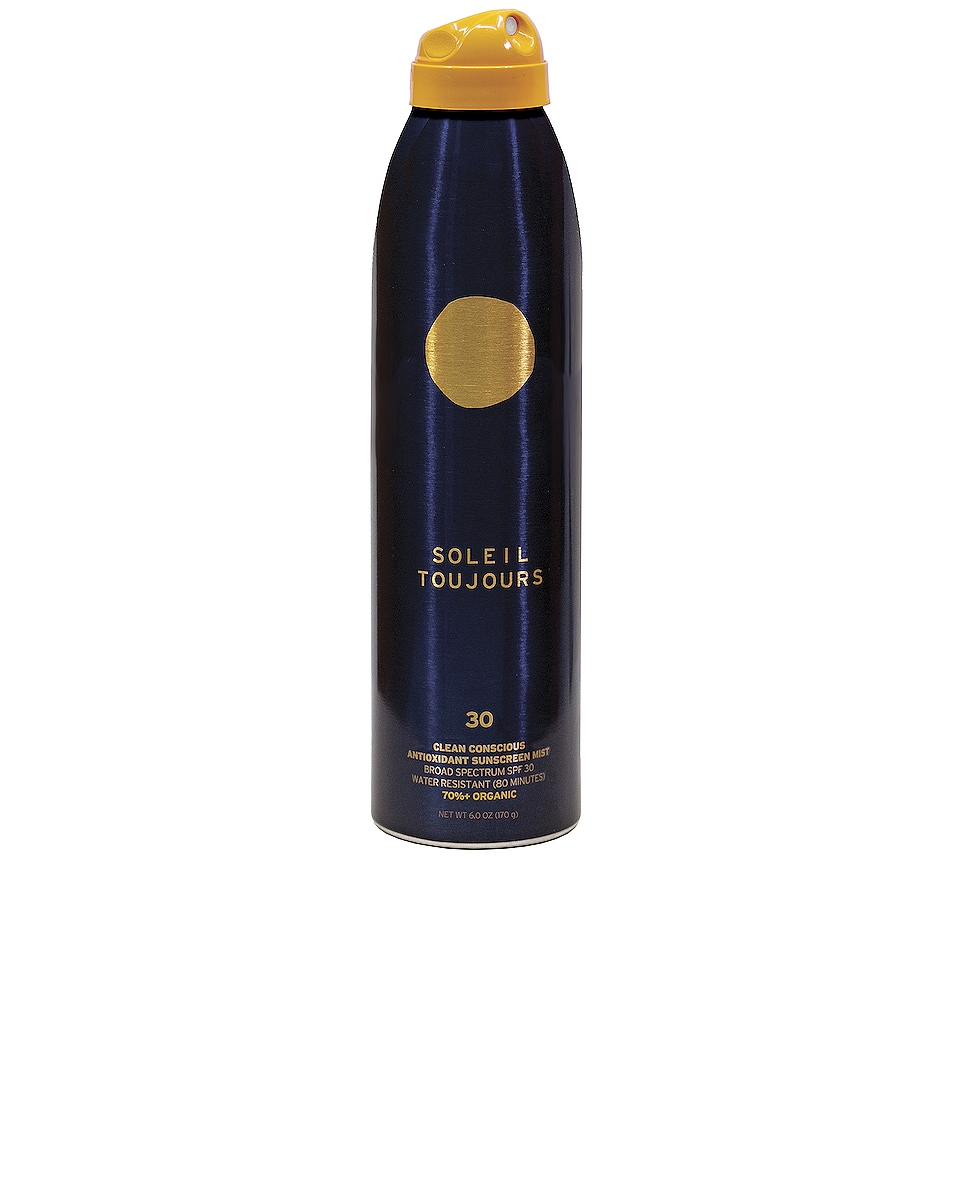 Image 1 of Soleil Toujours Clean Conscious Antioxidant Sunscreen Mist SPF 30 in