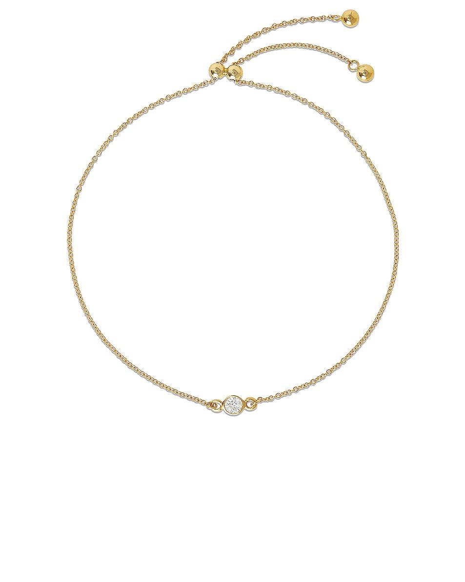 Image 1 of STONE AND STRAND Small Diamond Slider Bracelet in Gold & Diamond