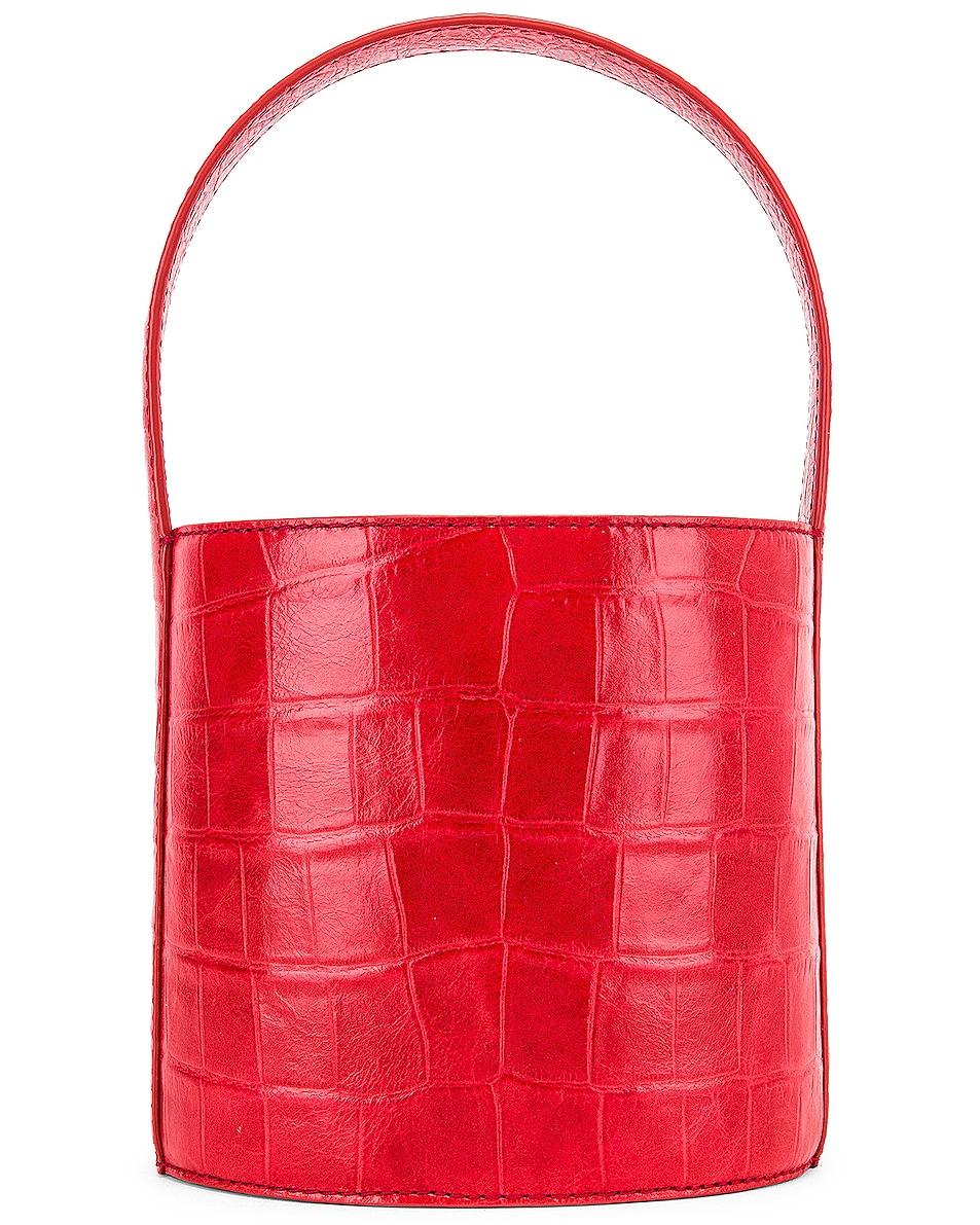 Image 3 of Staud Bissett Bag in Tomato