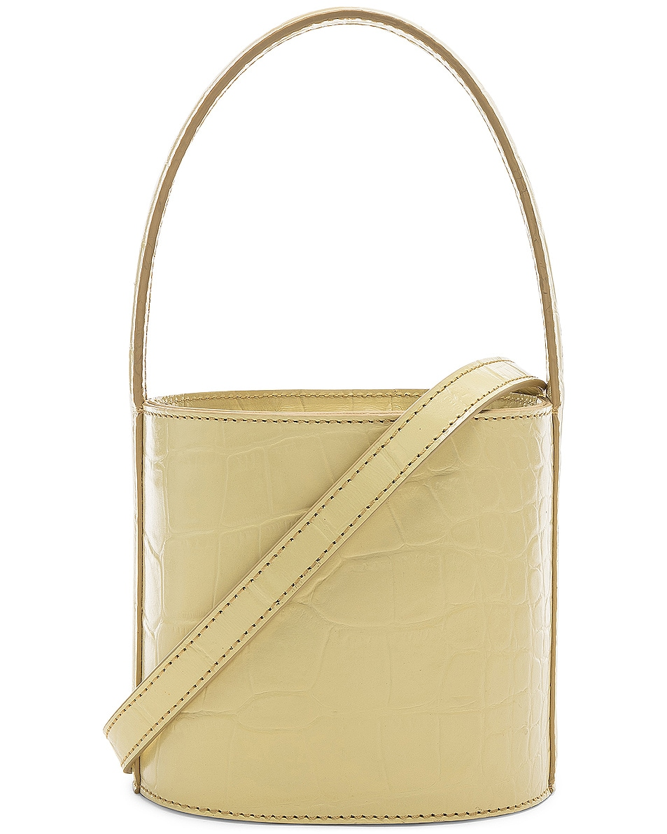 Image 1 of Staud Mini Bissett Bag in Butter