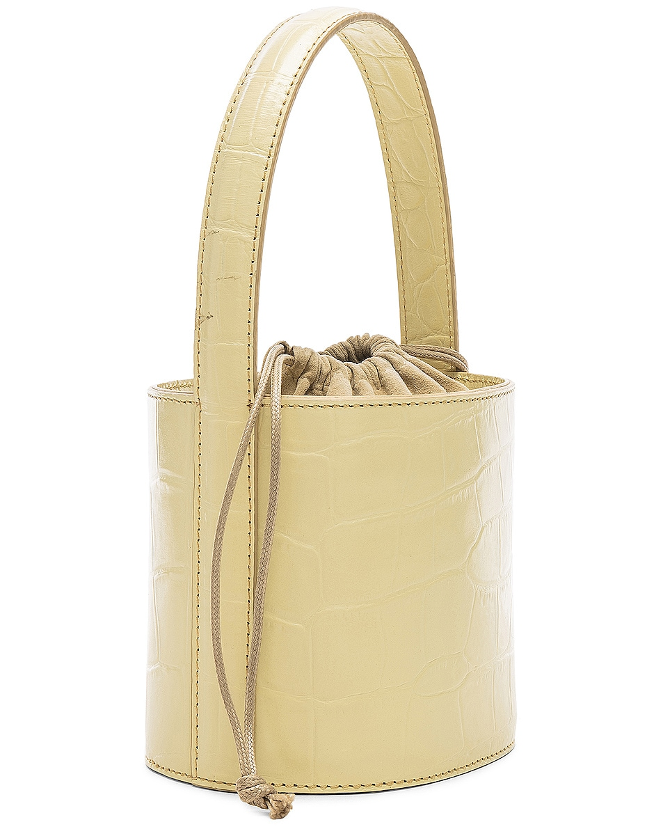 Image 3 of Staud Mini Bissett Bag in Butter