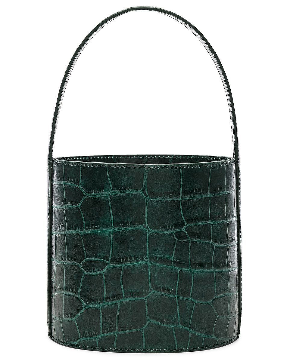 Image 3 of Staud Bissett Bag in Jade