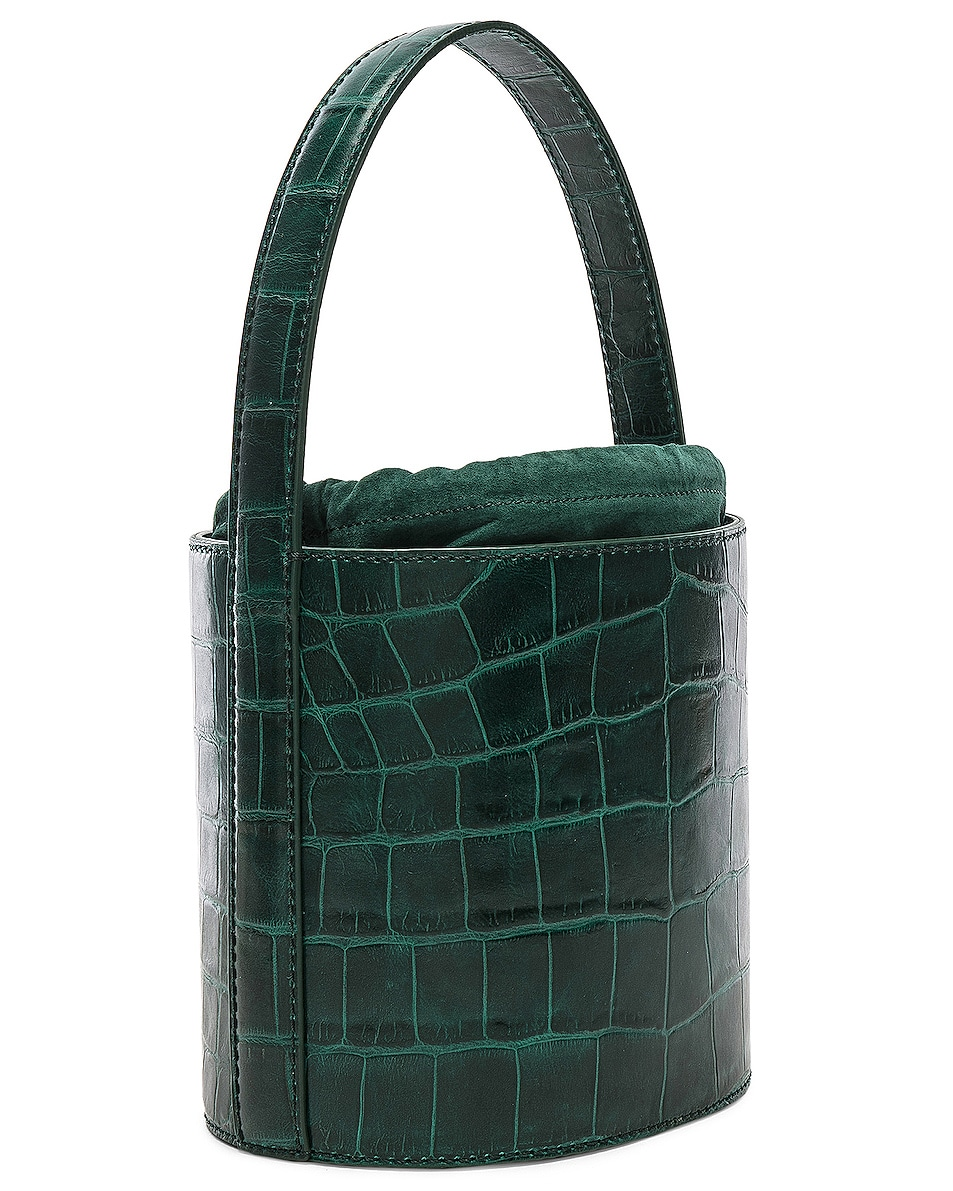 Image 4 of Staud Bissett Bag in Jade