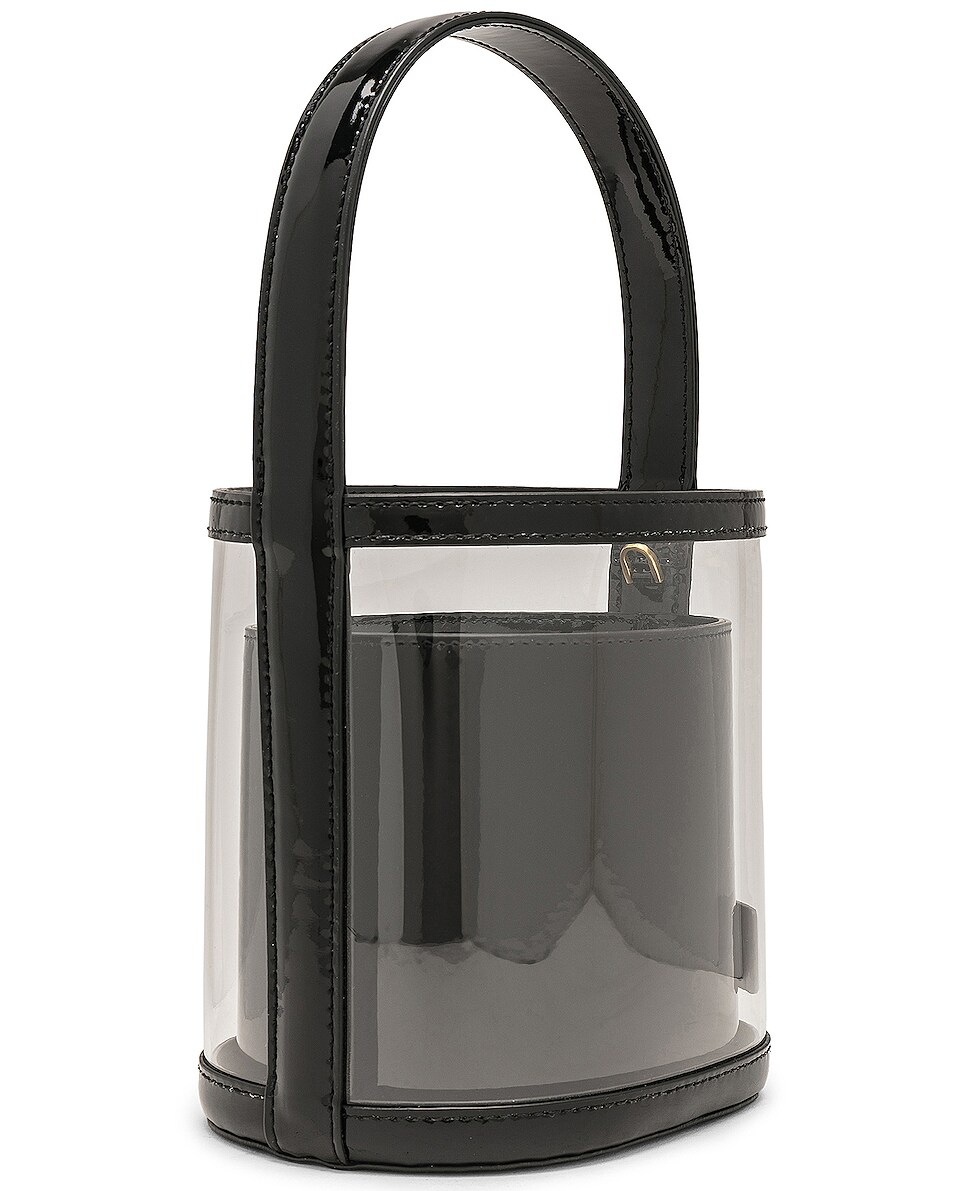 Image 4 of Staud Bissett Bag in Black & Clear