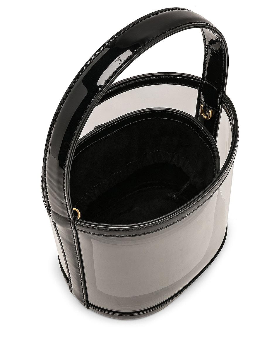Image 5 of Staud Bissett Bag in Black & Clear