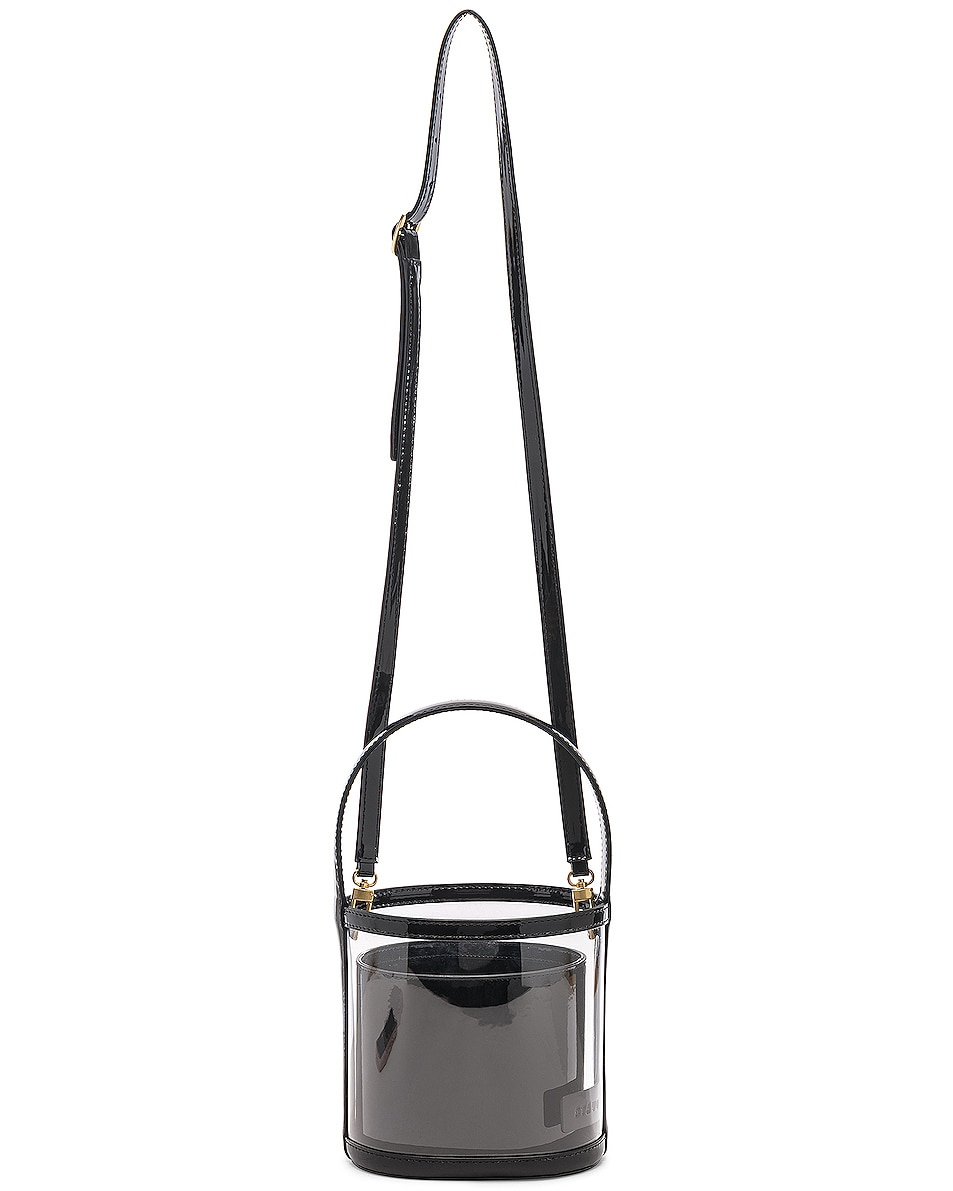 Image 6 of Staud Bissett Bag in Black & Clear