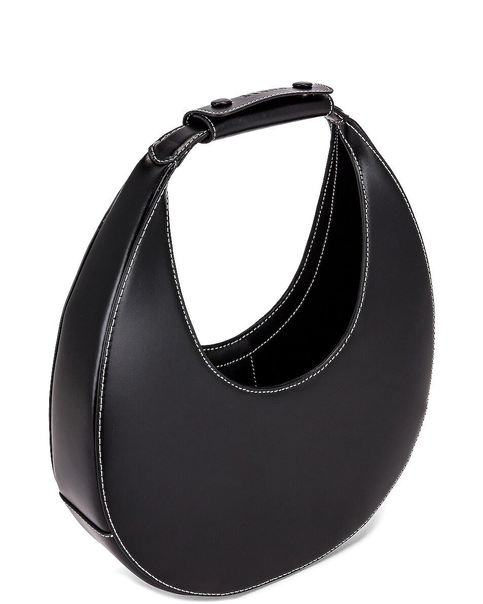 Image 5 of Staud Moon Bag in Black