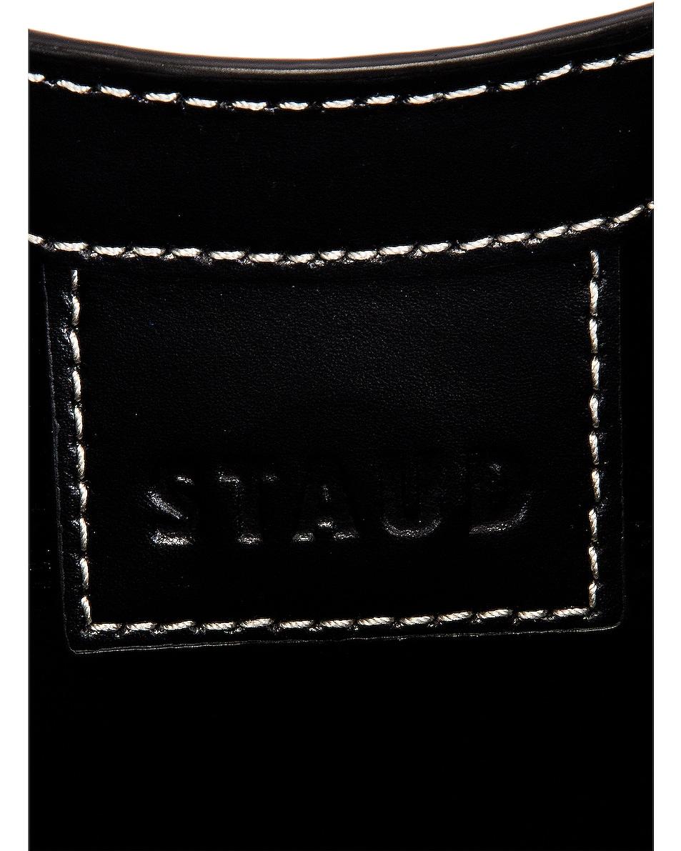 Image 6 of Staud Moon Bag in Black