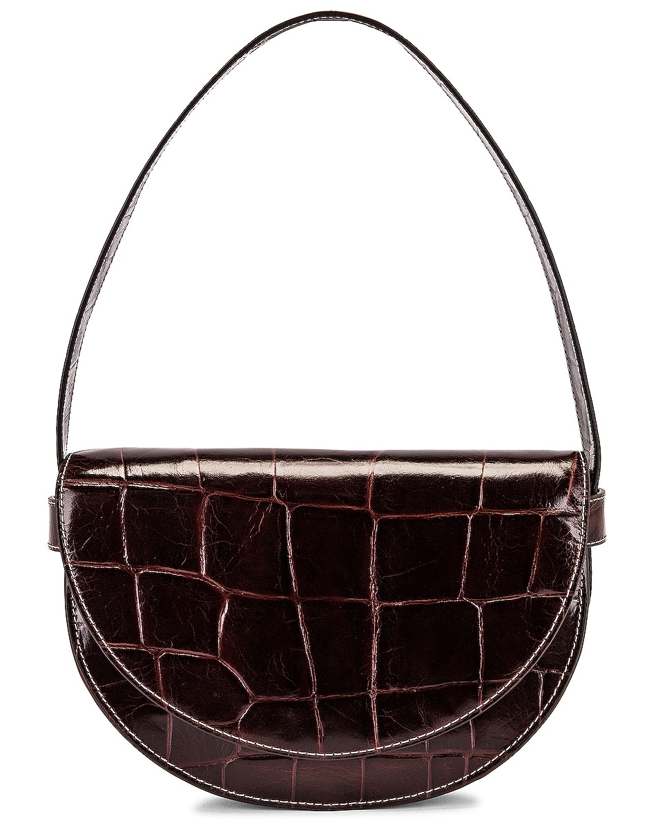Image 1 of Staud Amal Bag in Chocolate